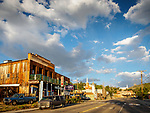 International Hotel and downtown Austin, Nevada, in the middle of the state along US 50, Loneliest Highway in America