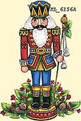 CHRISTMAS SYMBOLS, WEIHNACHTEN SYMBOLE, NAVIDAD SÍMBOLOS, paintings+++++,KL6156A,#xx#
