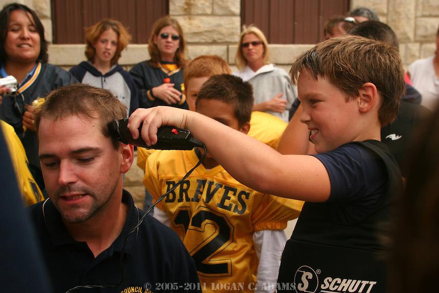 Council Grove vs. Abilene.4th Grade Youth Football