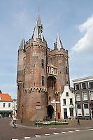 De Sassenpoort bij het centrum van Zwolle