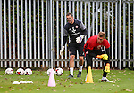 Darren Ward goalkeeper coach during the Sheffield Utd training session at the Shirebrook training complex, Sheffield. Picture date: 2nd September 2016. Picture Simon Bellis/Sportimage