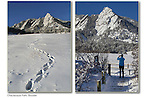 Winter morning, Chautauqua Park, Boulder.<br />