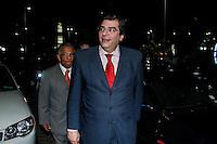 SAO PAULO, SP, 23 JULHO 2012 - ELEICOES 2012 - CELSO RUSSOMANO – Luiz Flavio Durso durante apoio de candidatura o recem-criado Partido Ecologico Nacional (PEN) a prefeitura de Sao Paulo na noite desta segunda-feira pelo presidente do PEN, o ex-deputado Adilson Barroso, no hotel Maksoud Plaza regiao da avenida paulista. FOTO: AMAURI NENH - BRAZIL PHOTO PRESS.