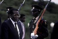 ZIMBABWE -  ROBERT MUGABE, president .ZIMBABWE -  ROBERT MUGABE, presidente
