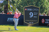 Robert Macintyre (SCO) during the third round of the Turkish Airlines Open, Montgomerie Maxx Royal Golf Club, Belek, Turkey. 09/11/2019<br /> Picture: Golffile | Phil INGLIS<br /> <br /> <br /> All photo usage must carry mandatory copyright credit (© Golffile | Phil INGLIS)