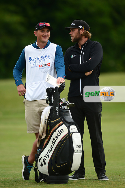Johan Carlsson of Sweden during Round 4 of the Lyoness Open, Diamond Country Club, Atzenbrugg, Austria. 12/06/2016<br /> Picture: Richard Martin-Roberts / Golffile<br /> <br /> All photos usage must carry mandatory copyright credit (&copy; Golffile | Richard Martin- Roberts)