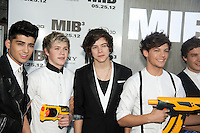 One Direction at the Men In Black 3 premiere at The Ziegfeld Theater in New York City. May 23, 2012. © Kristin Driscoll/MediaPunch Inc.