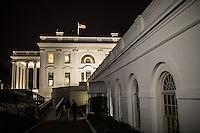La Casa Bianca vist adal cortile interno