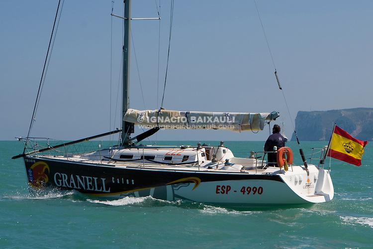 ESP 4990 GRANELL Agustin Granell Herrero FIRST 40.7 RCN Valencia <br /> Salida de la 22 Ruta de la Sal 2009 Versi&oacute;n Este, Denia, Alicante, Espa&ntilde;a
