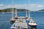 Lobster boats in Southwest Harbor, Maine, USA