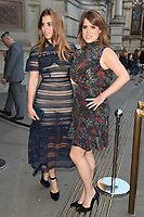 Princess Beatrice &amp; Princess Eugenie at the Victoria and Albert Summer Party held at the Victoria and Albert Museum in London, UK. <br /> 21 June  2017<br /> Picture: Steve Vas/Featureflash/SilverHub 0208 004 5359 sales@silverhubmedia.com