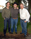 Dr. Bryan Chimenti, Jeff Bergman and Dr. Jimmy Fields at the American Cancer Society's Cattle Baron's Ball at the George Ranch Saturday April 26,2008. (Dave Rossman/For the Chronicle)