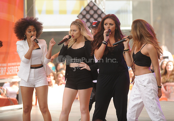 New York,NY-June 17: Little Mix performs  on The Today Show in New York City on June 17, 2014. ©Credit: John Palmer/MediaPunch.