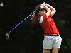 Peyton Greco of Smithtown East tees off the 10th Hole of Bethpage State Park's Yellow Course during the first round of the NYSPHSAA girls golf state championship on Saturday, June 4, 2016.