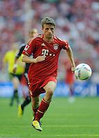 Fussball Bundesliga Saison 2011/2012 3. Spieltag FC Bayern Muenchen - Hamburger SV Thomas MUELLER (FCB).