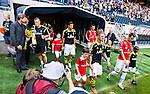 Solna 2014-07-12 Fotboll Allsvenskan AIK - Kalmar FF :  <br /> AIK:s Celso Borges p&aring; v&auml;g in till matchen mot Kalmars i Friends Arena<br /> (Foto: Kenta J&ouml;nsson) Nyckelord:  AIK Gnaget Friends Arena Kalmar KFF portr&auml;tt portrait