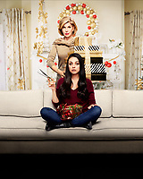 A Bad Moms Christmas (2017) <br /> Promotional art with Christine Baranski &amp; Mila Kunis<br /> *Filmstill - Editorial Use Only*<br /> CAP/KFS<br /> Image supplied by Capital Pictures