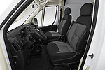 Front seat view of a 2019 Ram Promaster Base 3 Door Cargo Van front seat car photos