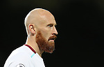 James Collins of West Ham United during the Premier League match at the Old Trafford Stadium, Manchester. Picture date: November 27th, 2016. Pic Simon Bellis/Sportimage