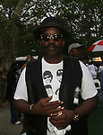 Pioneer and Cultural Legend Fab 5 Freddy attends Central Park Summer Stage: DJ Kool Herc, Blitz the Ambassador and Public Enemy, NY 8/17/10