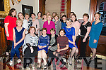 Noreen Brick from Ventry who is retiring after 40 years service in the Midwifery and Nursing dept at The University Hospital Kerry pictured here with friends at the Grand Hotel on Friday