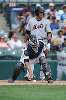 Trenton Thunder catcher Francisco Arcia (16) during game against the Binghamton Mets at ARM & HAMMER Park on July 27, 2014 in Trenton, NJ.  Trenton defeated Binghamton 7-3.  (Tomasso DeRosa/Four Seam Images)