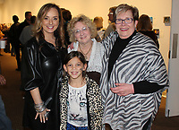 NWA Democrat-Gazette/CARIN SCHOPPMEYER Tareneh Manning (from left), Ramey Jones, Marsha Jones and Jan Struebing gather Oct. 25 at the Arts Center of the Ozarks for 5x5 Auction and Jazz Soiree at the center in Springdale.