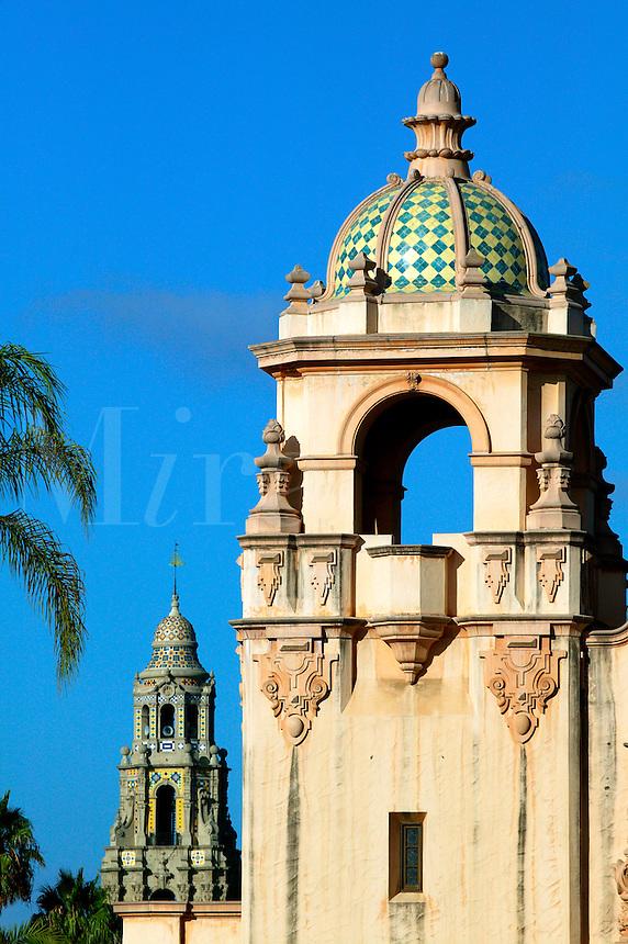 Casa del Prado and Theater and the The California Tower, Balboa Park, San Diego, California