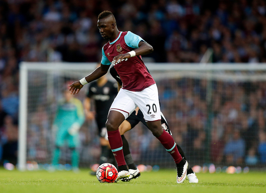 West Ham United's Modibo Maiga<br /> <br /> Photographer Kieran Galvin/CameraSport<br /> <br /> Football - UEFA Europa League Qualifying Third Round First Leg - West Ham United v Astra Giurgiu - Thursday 30 July 2015 - Boleyn Ground - London<br /> <br /> &copy; CameraSport - 43 Linden Ave. Countesthorpe. Leicester. England. LE8 5PG - Tel: +44 (0) 116 277 4147 - admin@camerasport.com - www.camerasport.com