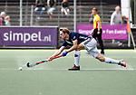 AMSTELVEEN  -  Gijs van Wagenberg (Pinoke)  Hoofdklasse hockey dames ,competitie, heren, Amsterdam-Pinoke (3-2)  . COPYRIGHT KOEN SUYK