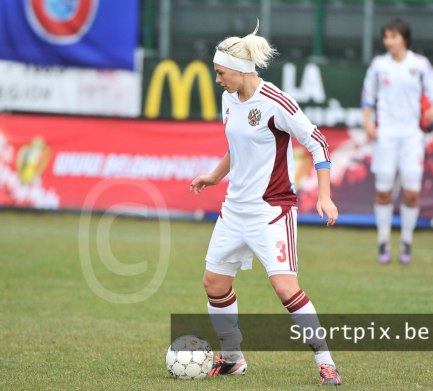 Russia U19 - Belgium U19 :  Ksenia Kovalenko.foto DAVID CATRY / Nikonpro.be