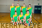 Killarney Cougars at the Masters Basketball Tournament in Mounthawk Gym on Saturday