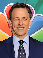 NEW YORK CITY, NY, USA - MAY 12: Seth Meyers at the 2014 NBC Upfront Presentation held at the Jacob K. Javits Convention Center on May 12, 2014 in New York City, New York, United States. (Photo by Celebrity Monitor)