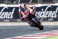 Jorge Navarro of Spain and Federal Oil Gresini Moto2 Team during the race of  Moto2 of Catalunya at Circuit de Catalunya on June 11, 2017 in Montmelo, Spain.(ALTERPHOTOS/Rodrigo Jimenez) (NortePhoto.com) (NortePhoto.com)