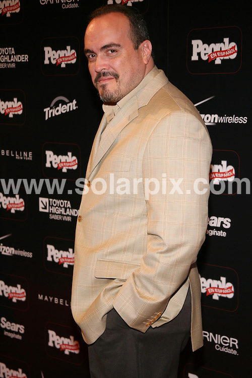 **ALL ROUND PICTURES FROM SOLARPIX.COM**.**SYNDICATION RIGHTS FOR UK, SPAIN, PORTUGAL, AUSTRALIA, S.AFRICA & DUBAI (U.A.E) ONLY**.People en Espanol Celebrates 12th Annual 50 Most Beautiful Issue. Guest arrivals at the Mansion New York, New York City, NY, USA. 14th May 2008..This pic: David Zayas..JOB REF: 6128 PHZ/Sylvain Gabour.DATE: 14_05_2008.**MUST CREDIT SOLARPIX.COM OR DOUBLE FEE WILL BE CHARGED* *UNDER NO CIRCUMSTANCES IS THIS IMAGE TO BE REPRODUCED FOR ANY ONLINE EDITION WITHOUT PRIOR PERMISSION*
