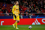 Jan Oblak of Atletico de Madrid during the UEFA Europa League match between Atletico de Madrid and Bayer 04 Leverkusen at Wanda Metropolitano Stadium in Madrid, Spain. October 22, 2019. (ALTERPHOTOS/A. Perez Meca)