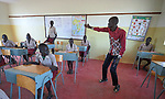 John Gor teaches at the Loreto Primary School outside Rumbek, South Sudan. The school is run by the Institute for the Blessed Virgin Mary--the Loreto Sisters--of Ireland. Gor is a graduate of the Solidarity Teacher Training College in Yambio, South Sudan.