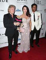 LOS ANGELES, CA - NOV 11: Eric Benet, Ken Todd, Lisa Vanderpump, Giggy attends the first annual Vanderpump Dog Foundation Gala hosted and founded by Lisa Vanderpump, Taglyan Cultural Complex, Los Angeles, CA, November 3, 2016. (Credit: Parisa Afsahi/MediaPunch).