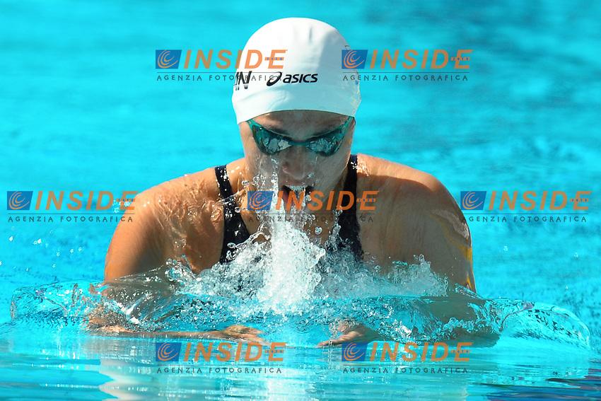 Satomi Suzuki Japan.100m Breaststroke women.Roma 14/6/2012 Foro Italico.Nuoto Swimming 49mo trofeo settecolli.Foto Antonietta Baldassarre Insidefoto