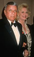 Frank Sinatra, Barbara Sinatra, 1993, Photo By Michael Ferguson/PHOTOlink