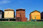 AF5GNE Beach huts Walton on the Naze  Essex England