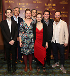 The Band attends the Broadway Opening Night performance After Party for 'Farinelli and the King' at The Belasco Theatre on December 17, 2017 in New York City.