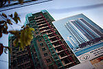 The Tran Xuan Soan building project on Tran Xuan Soan Street in District 7 in Ho Chi Minh City, Vietnam...Photo taken Wednesday, November 11, 2009. Kevin German / Luceo Images