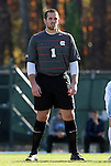 29 November 2009: UNC's Brooks Haggerty. The University of North Carolina Tar Heels defeated the Indiana University Hoosiers 1-0 at Fetzer Field in Chapel Hill, North Carolina in an NCAA Division I Men's Soccer Tournament Third Round game.