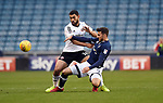 Cameron Carter Vickers of Sheffield United is challenged by Lee Gregory of Millwall during the championship match at The Den Stadium, Millwall. Picture date 2nd December 2017. Picture credit should read: Robin Parker/Sportimage
