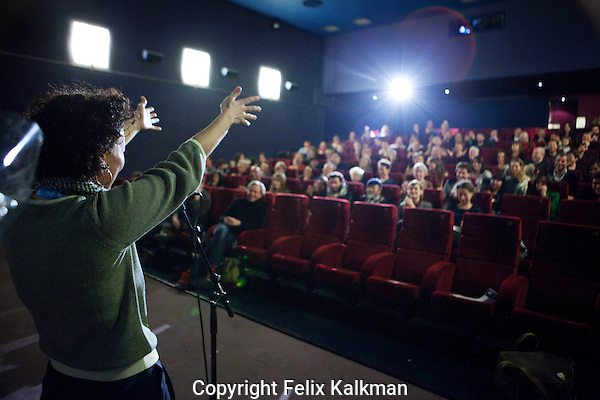 Amsterdam, 23 november 2013<br /> International Documentary Filmfestival Amsterdam, IDFA<br /> Premiere Super Jews, Nirit Peled<br /> Photo by Felix Kalkman