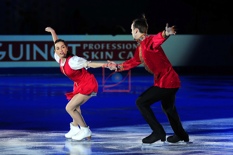 ISU Grand Prix of Figure Skating FINAL Barcelona 2014/2015.<br /> Ksenia Stolbova &amp; Fedor Klimov.