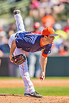 7 March 2013: Houston Astros pitcher Dallas Keuchel on the mound during a Spring Training game against the Washington Nationals at Osceola County Stadium in Kissimmee, Florida. The Astros defeated the Nationals 4-2 in Grapefruit League play. Mandatory Credit: Ed Wolfstein Photo *** RAW (NEF) Image File Available ***