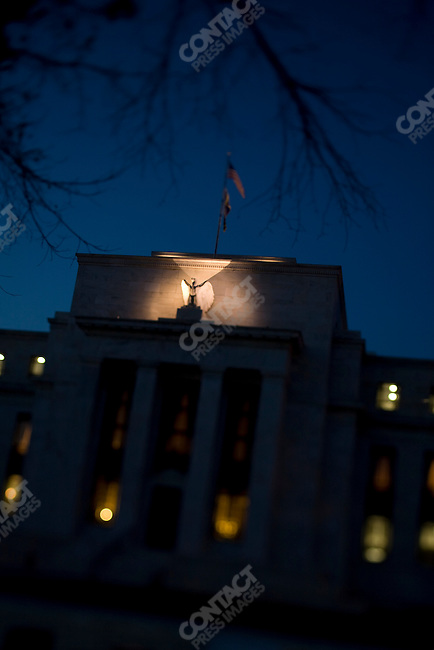 The Federal Reserve Headquarters, Washington D.C., USA, October 7, 2008