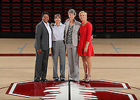 STANFORD, CA - September, 20, 2016: The 2016-2017 Stanford Women's Basketball Team.